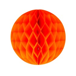 Orange Honeycomb 25 cm fra My Little Day