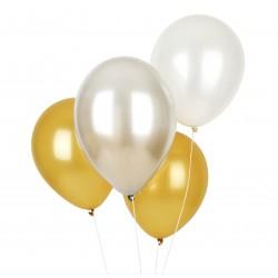 10 Metallic balloner