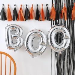 Sølv Boo Ballon Guirlande