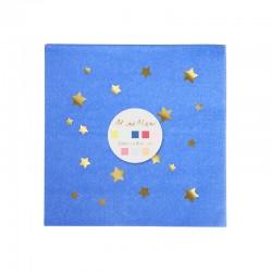 Jazzy stjerne servietter fra Meri Meri