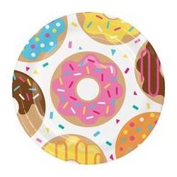 8 Donut Tallerken til doughnut fest