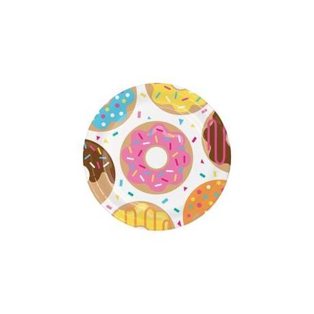 Donut Tallerken til doughnut fest