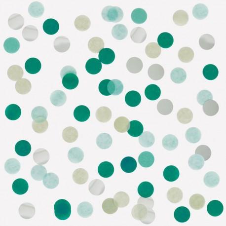 Grøn silkekonfetti fra My Little Day