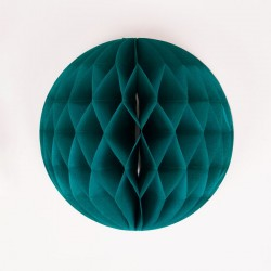 Teal Honeycomb 25 cm fra My Little Day