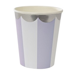 Lavendel stribede papkrus fra Merimeri