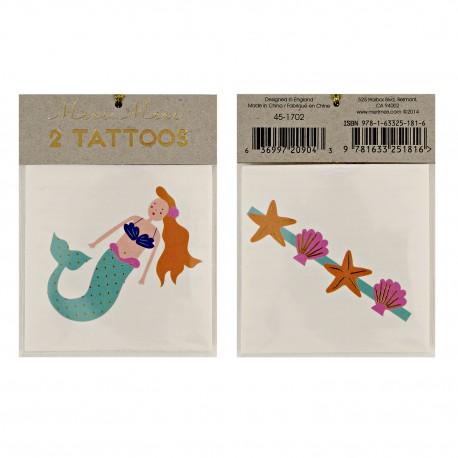 Havfrue tatoveringssæt