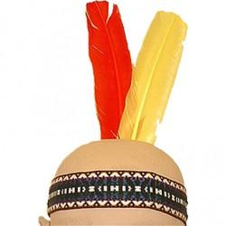 Fjerbånd til Indianerfest