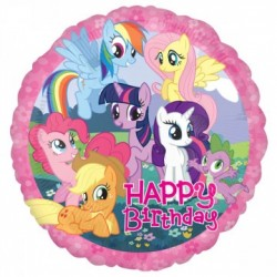 My Little Pony Happy Birthday Ballon