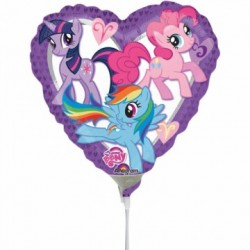 My Little Pony Hjerte Ballon