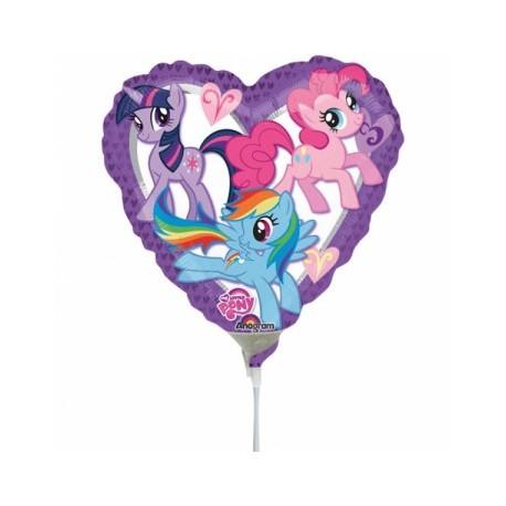 My Little Pony Hjerte Ballon