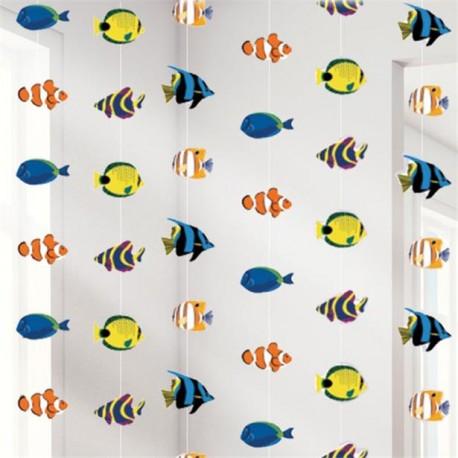 Tropiske fisk guirlande dekoration
