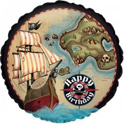 Pirat ballon til sørøver fest