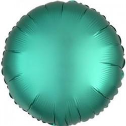 Smaragd Grøn Satin Folie Ballon til Helium