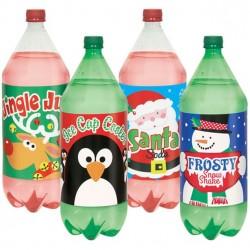 Flaskeetikketter til jul