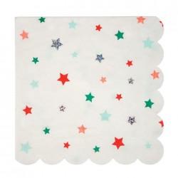 Stjerne Servietter fra Meri Meri