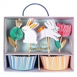 Påske Cupcakesæt fra Meri Meri