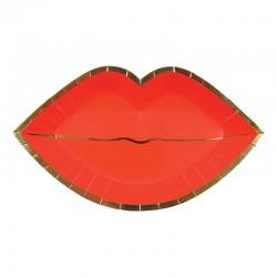 Kiss me tallerkner fra Meri Meri