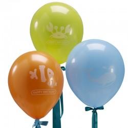 Balloner med undervandsmotiver