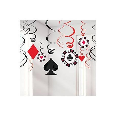 Casino spiral guirlande