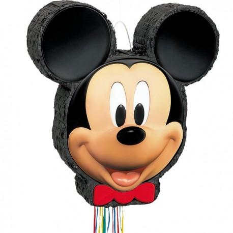 Mickey Mouse 3D Træk Pinata