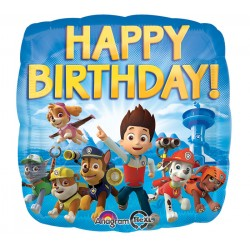 Paw Patrol Happy Birthday Ballon