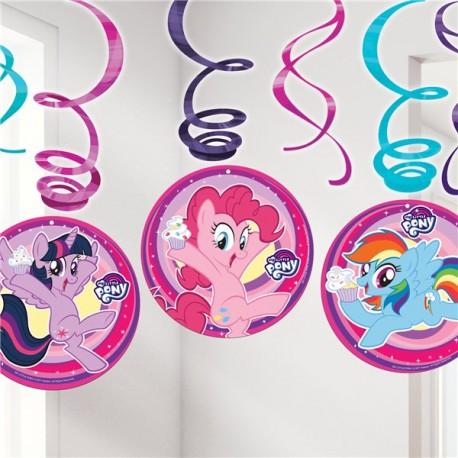 Festlig My Little Pony spiral guirlande