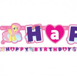 My Little Pony Happy Birthday guirlande