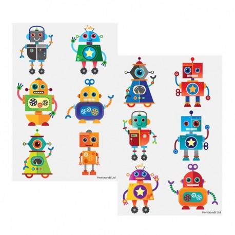 Robots Tatoveringsark