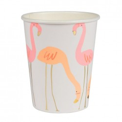 Flamingo papkrus med Guld Tryk fra Meri Meri