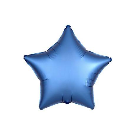 Guld Stjerne Folie Ballon til Helium