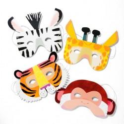 Jungle masker til safari tema