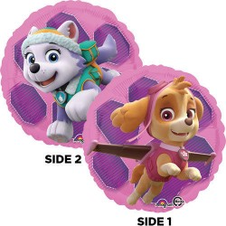 Stor Skye & Everest Paw Patrol Supershape Folie Ballon