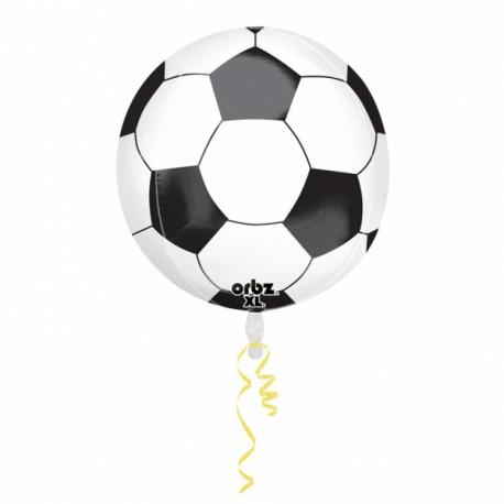 Helt rund Fodbold Folieballon