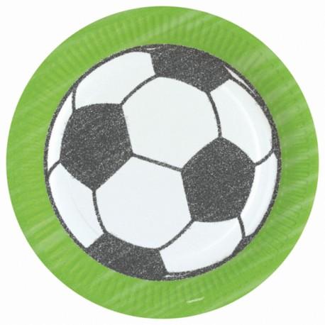 Fodbold Paptallerken