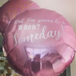 Design din egen rund folie ballon