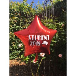 Medium Stjerne ballon til studenten 2018