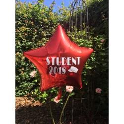 Stor Stjerne ballon til studenten 2019