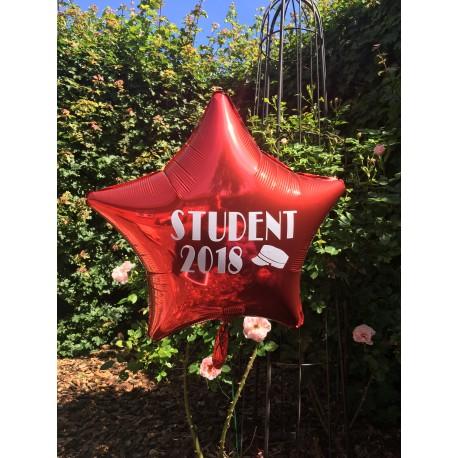 Stor Stjerne ballon til studenten 2018