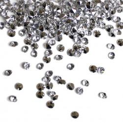 Sølv diamant bordpynt