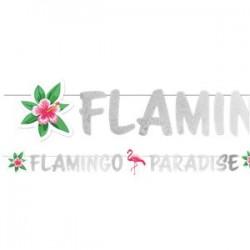 Flamingo Glimmer Guirlande