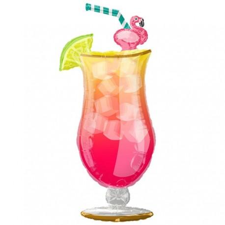 Sommer cocktail i ballon