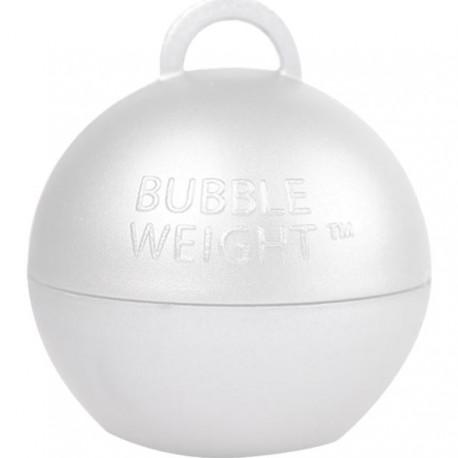 Hvid kugle vægt til balloner med helium