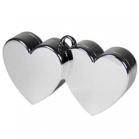 Hjerteformet vægt til balloner med helium