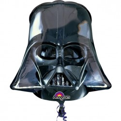 Darth Vaders Sorte Hjelm Folie Ballon