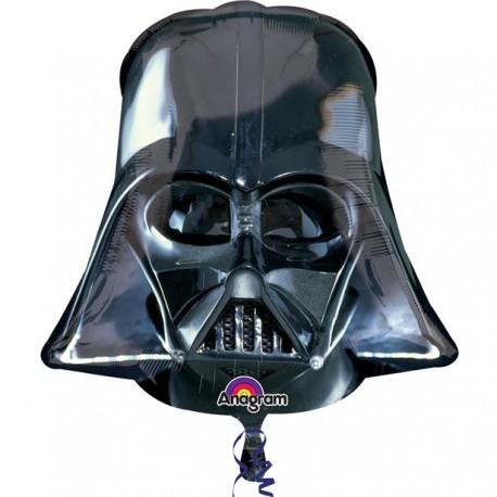Darth Vaders Sorte Hjelm Folie Ballon