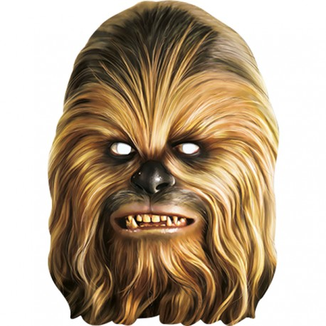 Chewbacca Maske til Star Wars fest