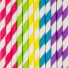Stribede sugerør i flotte farver fra franske My Little Day