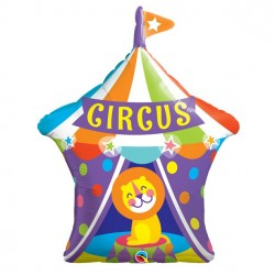 Cirkus Telt Supershape ballon