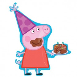 Gurli Gris Super Shapeballon til Peppa Pig Fødselsdag