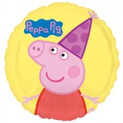 Gurli Gris festballon i folie til Peppa Pig Fødselsdag